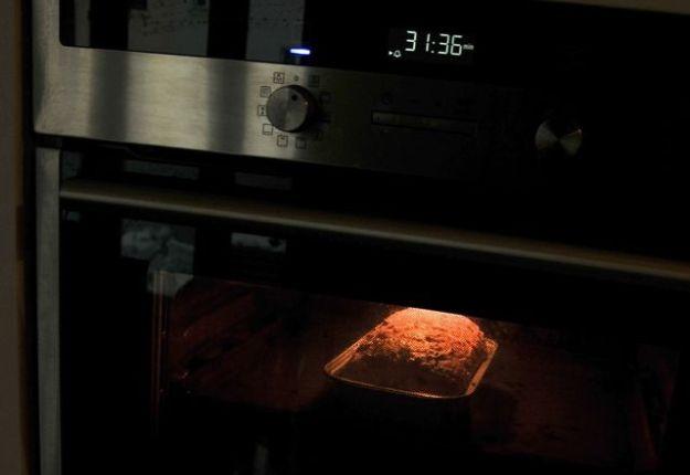 Easy loaf in oven